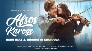 Photo of Asim Riaz Afsos Karoge Himanshi Khurana Stebin Ben New Single Out Now